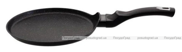 Сковорода для млинців Berlinger Haus Black Silver Ø25см з мармуровим покриттям
