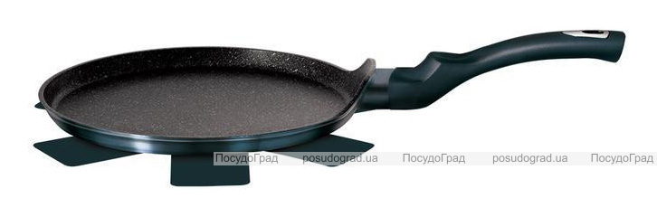 Сковорода млинцева Berlinger Haus Aquamarine Edition Ø25см з мармуровою крихтою