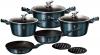 Набор кухонной посуды Berlinger Haus Aquamarine Edition 8 предметов + 2 подставки под горячее
