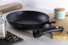 Сковорода Berlinger Haus Black Rose Ø28х5.2см с мраморным покрытием и пластиковой крышкой