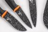 Набір 6 кухонних ножів Berlinger Haus Granit Diamond з мармуровим покриттям