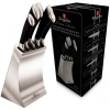 Набор 5 кухонных ножей Berlinger Haus Black Silver на подставке