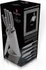 Набір 5 кухонних ножів Berlinger Haus Kikoza Grey на підставці з нержавіючої сталі