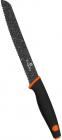 Нож для хлеба Berlinger Haus Granit Diamond 20см с мраморным покрытием