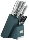 Набор кухонных ножей Berlinger Haus Kikoza Viridian подставке с держателем для смартфона