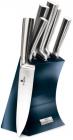 Набір 5 ножів Berlinger Haus Aquamarine Edition на підставці