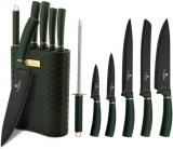 Набір ножів Berlinger Haus Emerald Collection 6 предметів на підставці