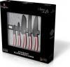 Набір 5 ножів Berlinger Haus I-Rose з алмазним покриттям, на магнітній планці