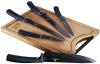 Набір ножів Berlinger Haus Aquamarine Edition 5 ножів і дошка