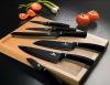 Набор ножей Berlinger Haus Black Silver из 7 предметов на вращающейся подставке
