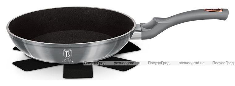 Сковорода Berlinger Haus Moonlight Edition Ø24см з титановим покриттям