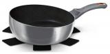 Сковорода Berlinger Haus Moonlight Edition «Шеф-кухар» Ø26см з титановим покриттям