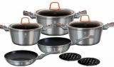 Набор кухонной посуды Berlinger Haus Moonlight Edition 10 предметов