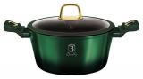 Каструля Berlinger Haus Emerald Collection 4.1л з титановим покриттям