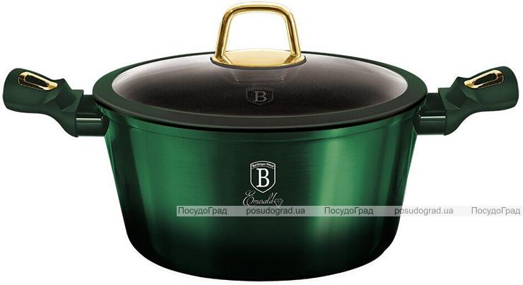 Кастрюля Berlinger Haus Emerald Collection 6.1л с титановым покрытием