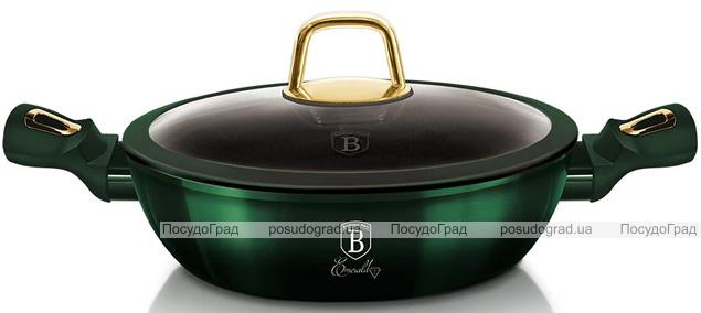 Сотейник Berlinger Haus Emerald Collection Ø28см с титановым покрытием, с крышкой
