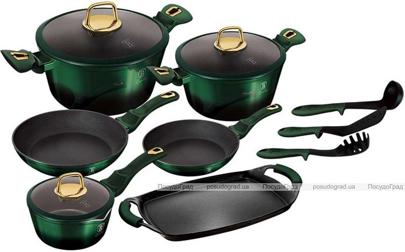 Набор кухонной посуды Berlinger Haus Emerald Collection 14 предметов