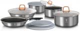 Набір кухонного посуду Berlinger Haus Moonlight Edition 12 предметів