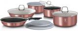 Набір кухонного посуду Berlinger Haus I-Rose 12 предметів