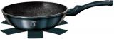 Сковорода-вок Berlinger Haus Aquamarine Edition Ø30см з мармуровою крихтою