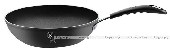 Сковорода-вок Berlinger Haus Black Professional Line Ø28см с титановым покрытием