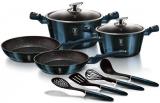 Набір кухонного посуду Berlinger Haus Aquamarine Edition 10 предметів
