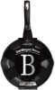 Сковорода-сотейник Berlinger Haus Black Silver Ø24см с носиками, мраморное покрытие