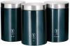 Набір банок Berlinger Haus Aquamarine Edition 3 банки Ø11х17.8см з нержавіючої сталі