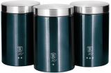 Набор банок Berlinger Haus Aquamarine Edition 3 банки Ø11х17.8см из нержавеющей стали