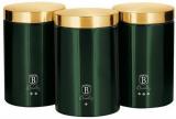 Набор банок Berlinger Haus Emerald Collection 3 банки Ø11х17.8см из нержавеющей стали