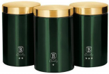 Набір банок Berlinger Haus Emerald Collection 3 банки Ø11х17.8см з нержавіючої сталі