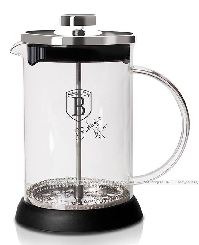 Френч-прес Berlinger Haus Black Silver 350мл