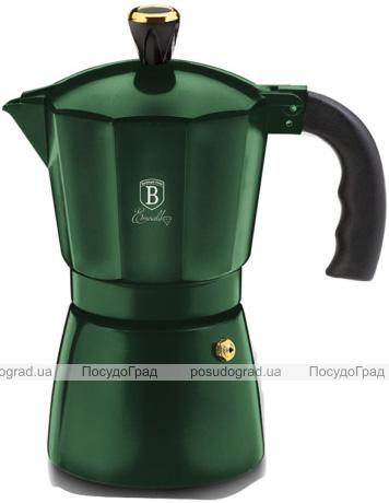Кофеварка гейзерная Berlinger Haus Emerald Collection на 3 чашки