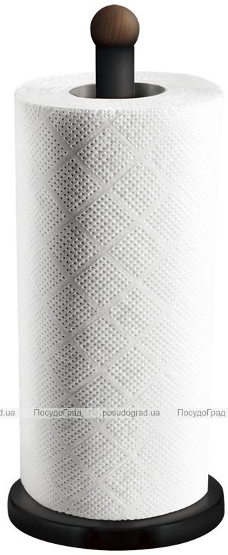 Подставка для бумажных полотенец Berlinger Haus Ebony Rosewood 15х34см, нержавеющая сталь