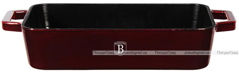 Форма для выпечки Berlinger Haus Burgundy 30х20х7см, чугун с эмалевым покрытием