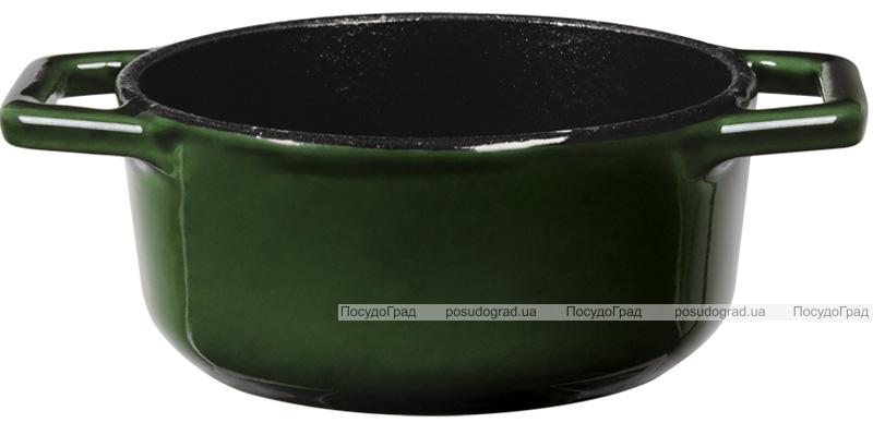 Каструлька чавунна Berlinger Haus Emerald Collection Ø10х4.8см з емалевим покриттям