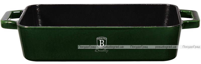 Форма для випічки Berlinger Haus Emerald Collection 30х20см, чавун з емалевим покриттям