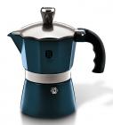 Кофеварка гейзерная Berlinger Haus Aquamarine Edition на 3 чашки