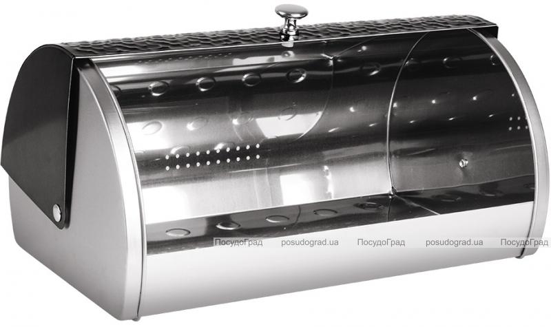 Хлебница Berlinger Haus Shine-Basalt 38.5х28х18.5см, нержавеющая сталь