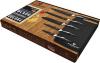 Набор кухонных ножей Blaumann Graphite с антибактериальным покрытием, 6 предметов