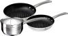 Набор 2 сковороды и ковш Blaumann Gourmet из нержавеющей стали