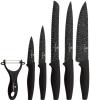 Набор 6 кухонных ножей Blaumann Lair с мраморным покрытием