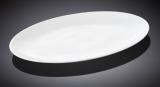 Набор 6 овальных блюд Wilmax Olivia 25.5х17см, фарфор