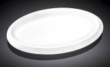 Набор 6 овальных блюд Wilmax Teona 25.5см, фарфор