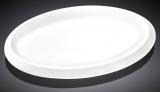 Набор 3 овальных блюда Wilmax Teona 36см, фарфор