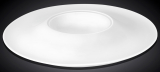 Набор 3 тарелки Wilmax Stella Ø28см с секцией для соуса, фарфора