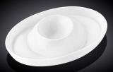 Набір 6 підставок під яйце Wilmax Stella Porcelain 12.5х9см, фарфор