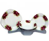 Столовый набор Bouquet of Crimson Roses 18 предметов на 6 персон