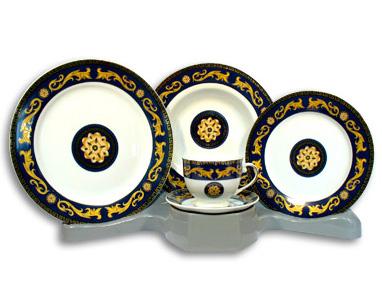 Столовый набор Gold Pattern 53 предмета на 6 персон
