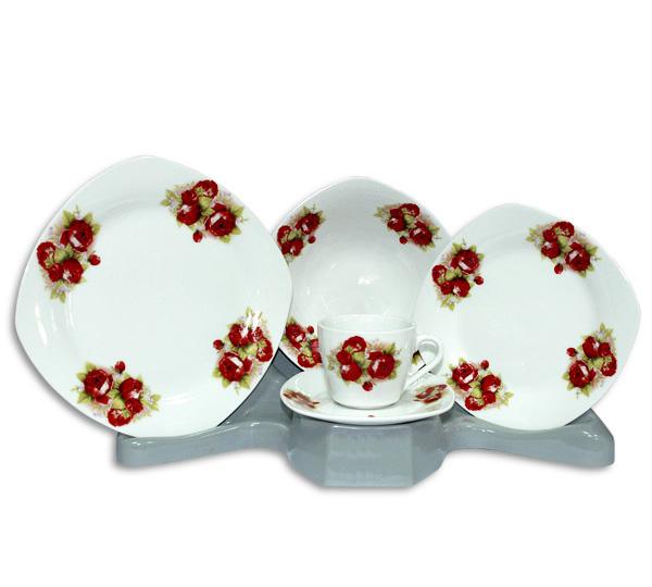 Столовый набор Bouquet of Red Roses 30 предметов на 6 персон